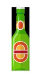 Bottle of super